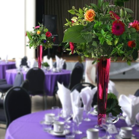 W Flowers product: Fuchsia Wedding Centerpieces