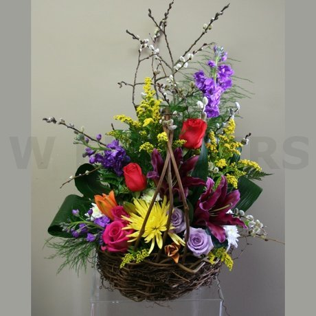 W Flowers product: Funeral flowers for a gardener
