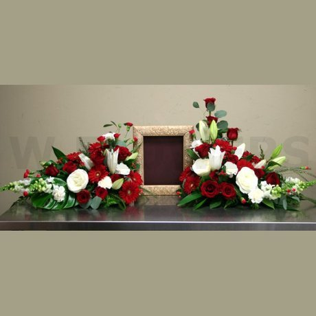 W Flowers product: Funeral Viewing Flowers