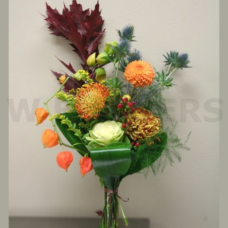 W Flowers product: Funky Autumn Bouquet