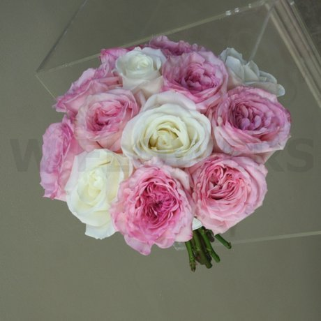 W Flowers product: Garden Roses Bridal bouquet