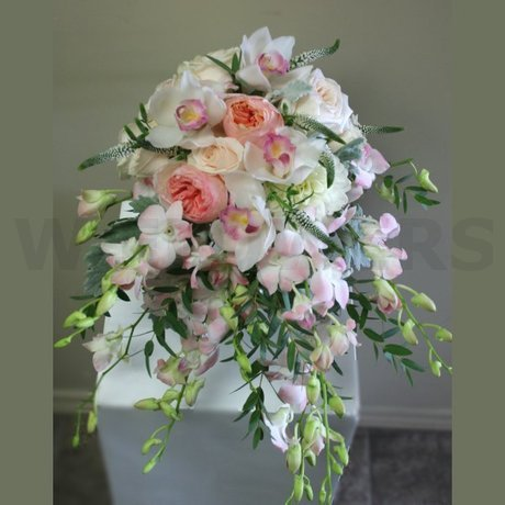 W Flowers product: Garden Style Wedding Bouquet