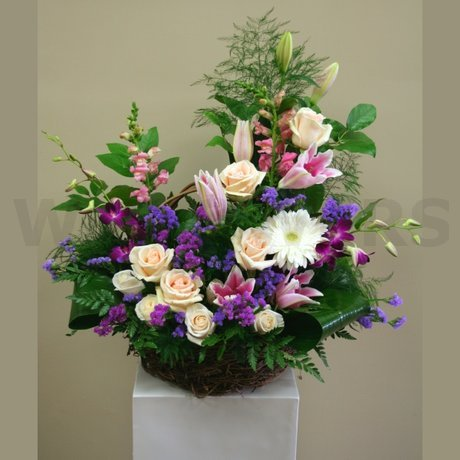 W Flowers product: Garden Wedding Ceremony Flowers