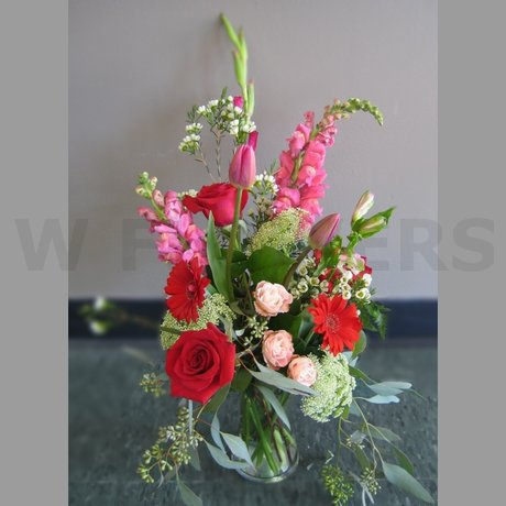 W Flowers product: Gentle Caress