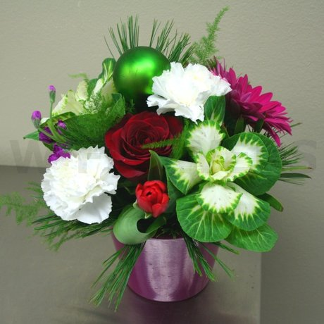 W Flowers product: Happy Holidays Flowers