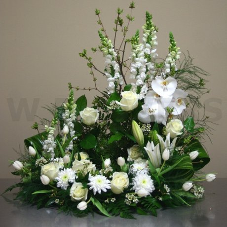 W Flowers product: Harmony Urn Arrangement