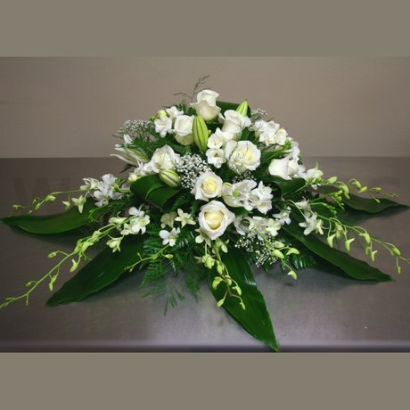 W Flowers product: Head Table Wedding Flowers