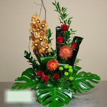 W Flowers product category: High Style Funeral Flowers
