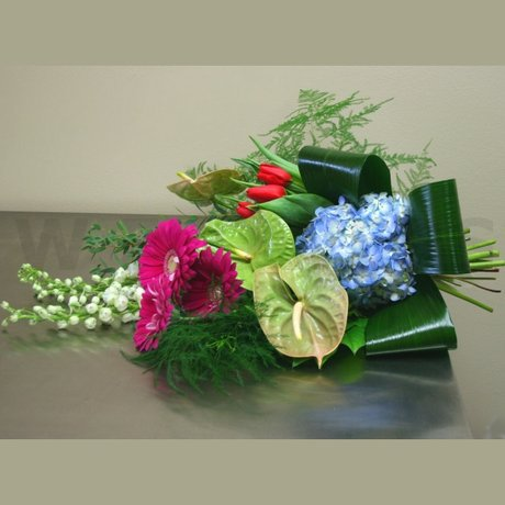 W Flowers product: High Style Hand Tied Bouquet