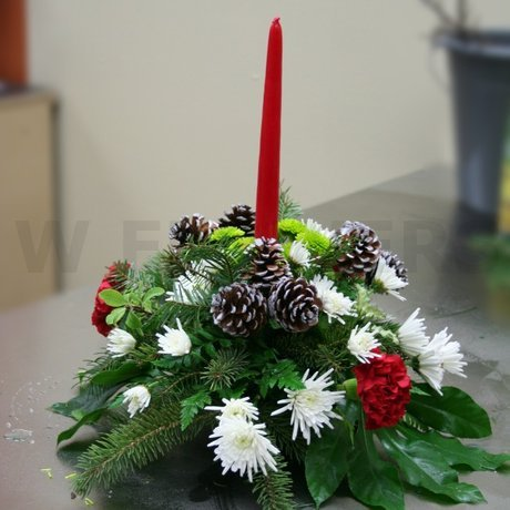 W Flowers product: Holiday Wishes