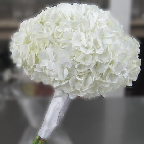 W Flowers product: Hydrangea Bridesmaid Bouquet