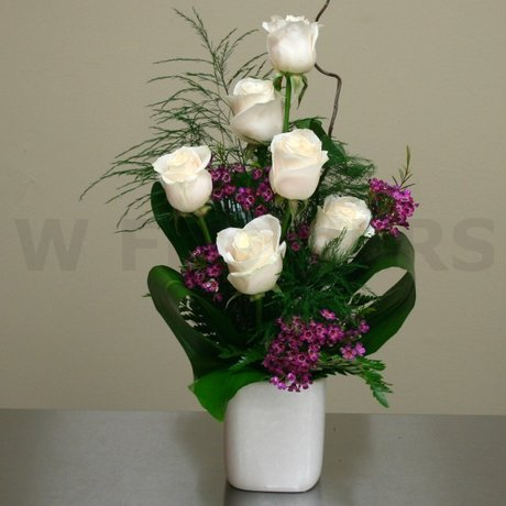 W Flowers product: Just Roses