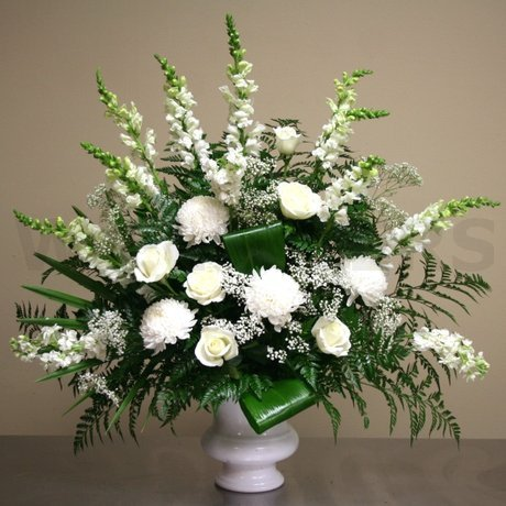 W Flowers product: Large Altar Arrangement for Wedding Ceremony