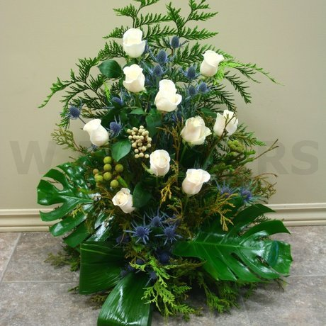 W Flowers product: Large Arrangement for Winter Wedding