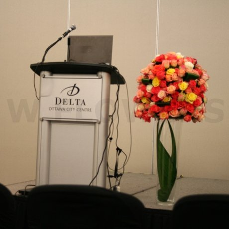 W Flowers product: Large Event Arrangement with Roses