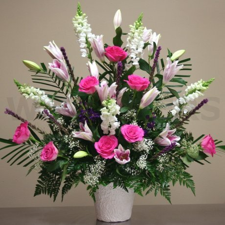 W Flowers product: Large Tribute for Funeral