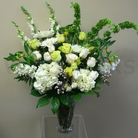W Flowers product: Large vase floral arrangement