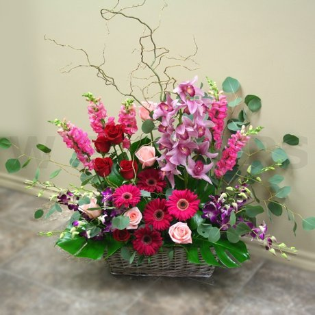 W Flowers product: Large Wedding Ceremony Flower Arrangement