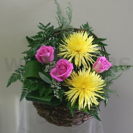 W Flowers product: Lovely Basket