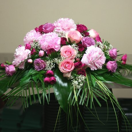 W Flowers product: Main Table Wedding Flowers in Pink and Lavender