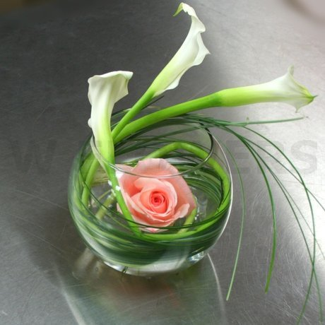 W Flowers product: Mini Calla Centerpiece