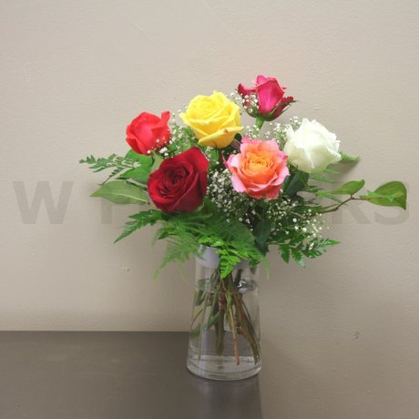 W Flowers product: Mixed Rose Bouquet