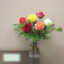 W Flowers product category: Mixed Rose Bouquet