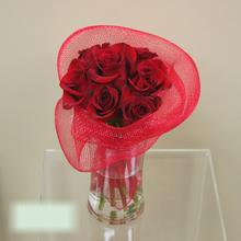 W Flowers product category: Modern Red Roses