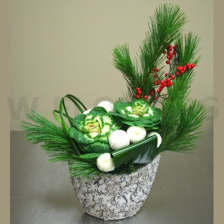 W Flowers product: Modern Winter Design