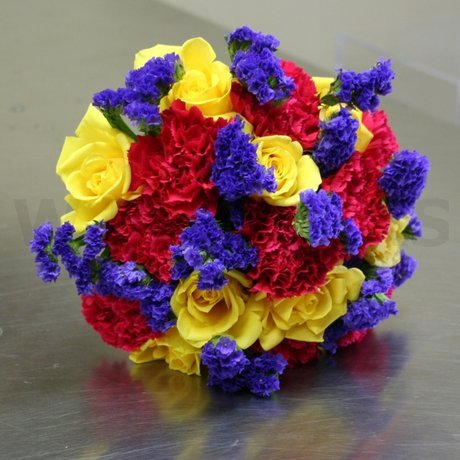 W Flowers product: Multicolor wedding bouquet
