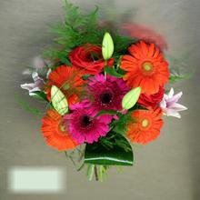 W Flowers product category: Multicolored Hand Tied Bouquet