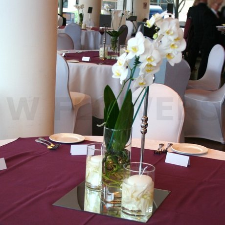 W Flowers product: Museum of Civilization Cafeteria Wedding Flowers