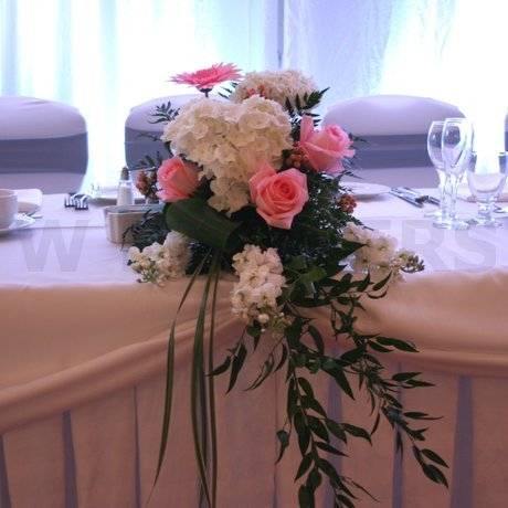 W Flowers product: National Arts Centre Wedding Flowers Head Table