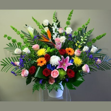 W Flowers product: Opulent Tribute