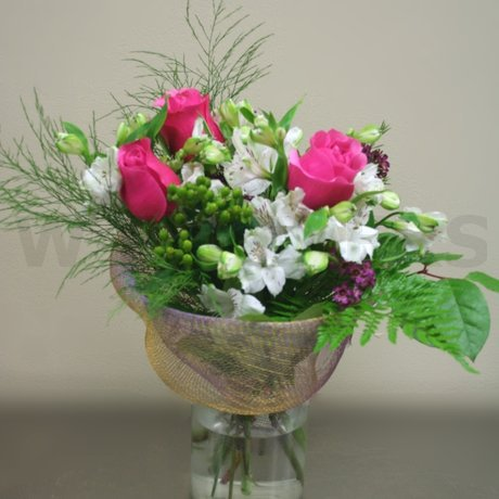 W Flowers product: Perfect Pink