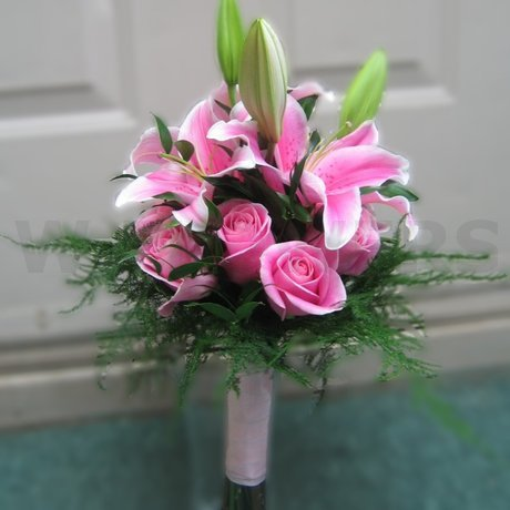 W Flowers product: Pink Bridal Bouquet