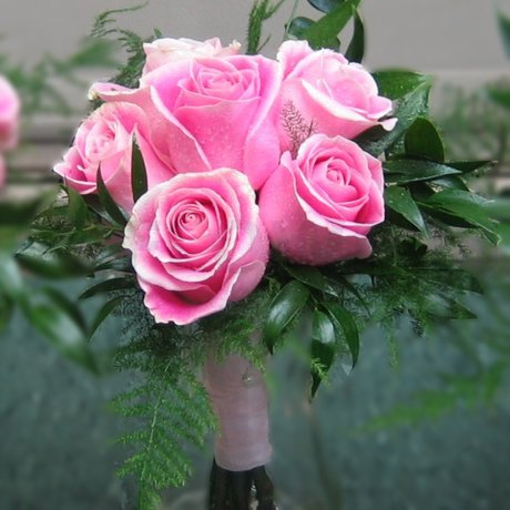 W Flowers product: Pink Bridesmaid bouquet
