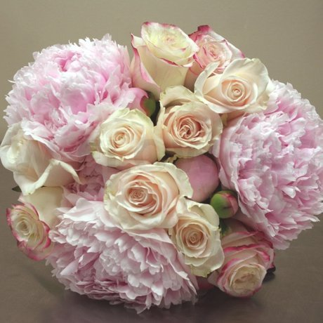 W Flowers product: Pink Peonies Bridal Bouquet