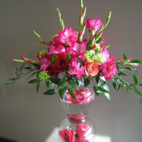 W Flowers product: Pink Wedding Flower Arrangement