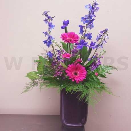 W Flowers product: Purple Dream