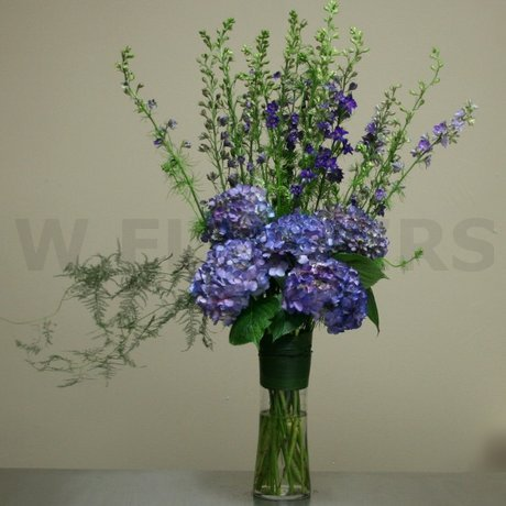W Flowers product: Purple Flowers for Altar