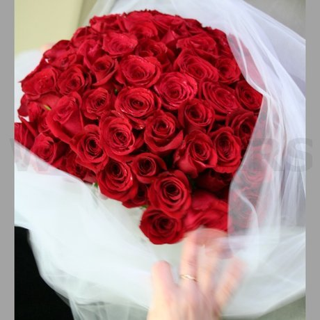 W Flowers product: Red Roses for Proposal