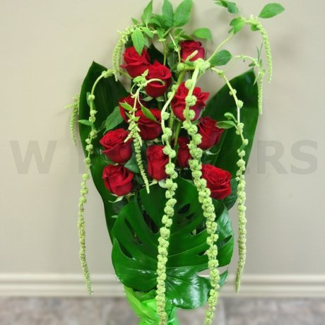 W Flowers product: Remarkable Red Roses