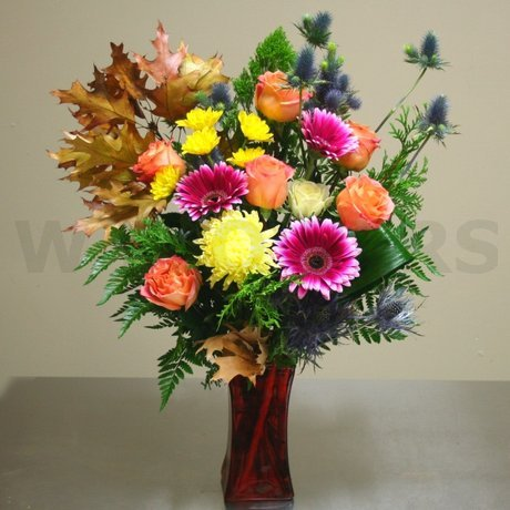 W Flowers product: Rich Autumn
