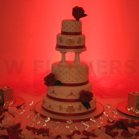 W Flowers product: Roses for Wedding Cake Decoration