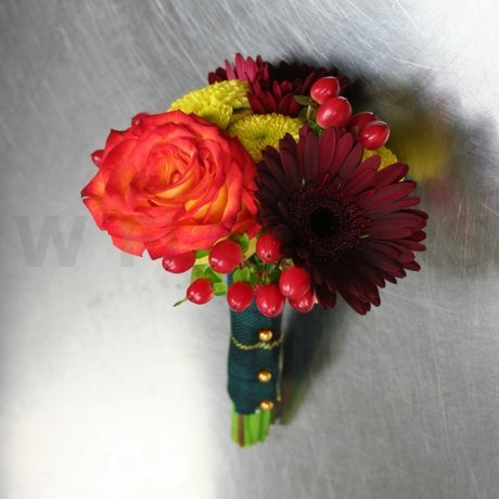 W Flowers product: Scottish Themed Flower Girl Bouquet