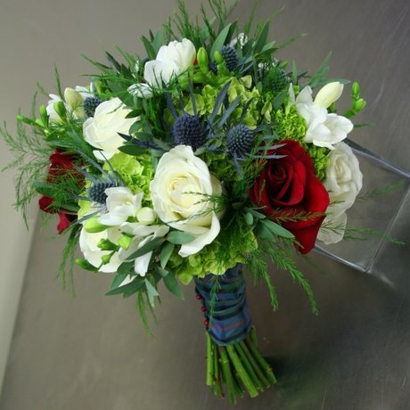 W Flowers product: Scottish Wedding Bouquet