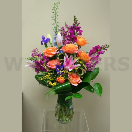 W Flowers product: Seasonal Bouquet in a Vase