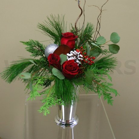 W Flowers product: Silver Christmas