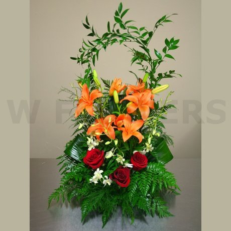 W Flowers product: Sincere Condolences Flowers